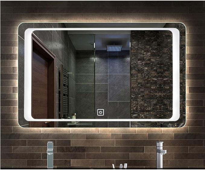 ENDUL Capteur de commutateur Tactile de commutateur de Miroir de Salle de Bains 5-12V pour Le Phare de Miroir de lumi/ère LED