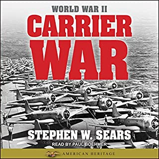 World War II: Carrier War audiobook cover art