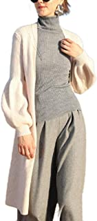Howely Womens Premium Fall Winter Outwear Merino Cashmere Knit V Neck Cardigan
