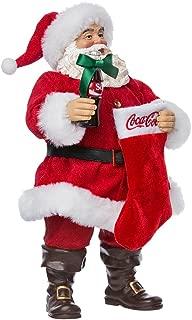 santa coke bottles