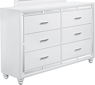 Global Furniture USA D Mackenzie Dresser, White