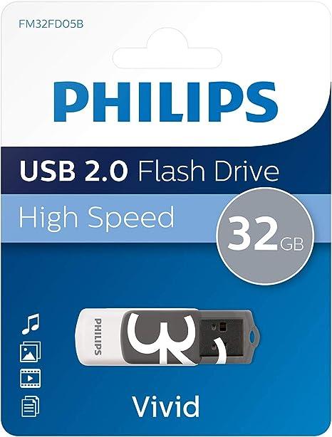 Philips Vivid Usb 2 0 Speicherstick 32 Gb Computer Zubehör