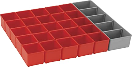 Bosch Bosch ORG53-RED Organizer Set for i-BOXX53, Part of Click and Go Mobile Transport System, 30-Piece