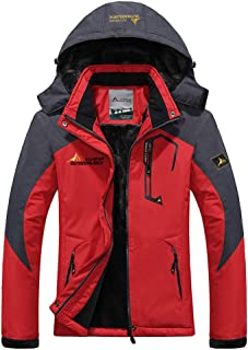 efef5a6837627 Hommes Manteau Épais Outwear Blouson Sport Escalade Alpinisme Ski Chaud  Automne Hiver Veste Capuche Manches Longues