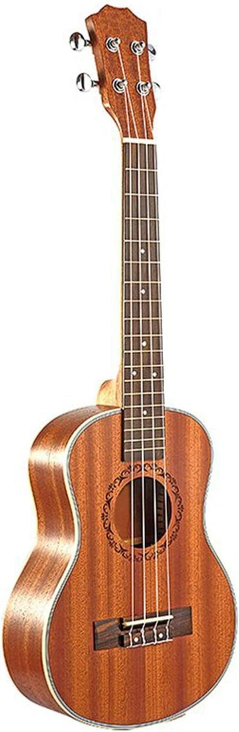 Concierto Ukulele Kit Ukelele Ukelele Eléctrico Acústico Tenor, Guitarra De 26 Pulgadas, Ukelele De 4 Cuerdas, Guitarrista De Madera Artesanal, Caoba