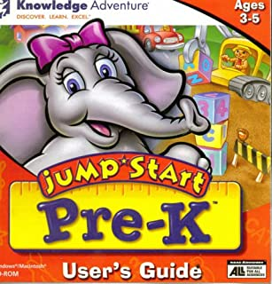 Jump*Start Pre-K for Ages 3-5, CD-ROM for Windows and Macintosh