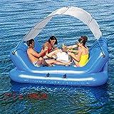 Swim Party Toys Schlauchboot Wasser Markise Musik Lobby Tragen Gewicht 360 Kg...