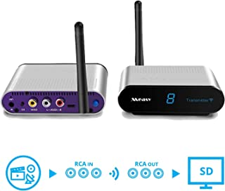 MEASY AV230 2.4GHz ISM Wireless AV Sender TV STB Audio Video Transmitter Receiver up to 300m with IR Control Back Function
