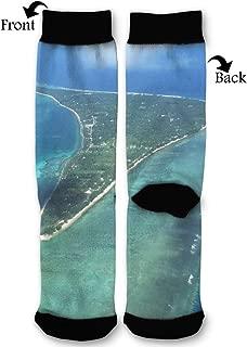 Marshall Islands Socks Funny Fashion Novelty Advanced Moisture Wicking Sock for Man Women