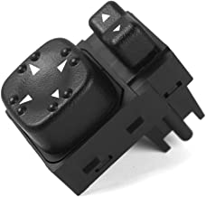 Power Mirror Switch for Chevy Chevrolet Silverado Sierra Tahoe Yukon Suburban, GMC 2500HD 15045085, 19259975, 901-124 Replacement(Black)