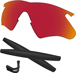 M Frame Heater Lenses & Rubber Kits Replacement for Oakley Polarized