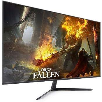 SCKL 32 Pulgadas De Monitor, FHD (2560 X 1440), IPS, Diseño Ultra Delgado, HDMI, Parpadeo Libre, Luz Azul Baja, 2 Ms: Amazon.es: Electrónica