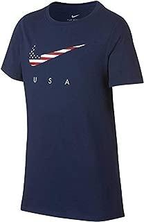 Team USA Swoosh Flag Youth T-Shirt AR4058