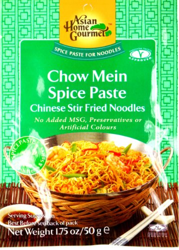 Asian Home Gourmet Chow Mein Spice Paste /Chinese Stir Fried Noodles 50g