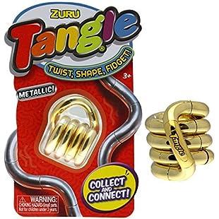 Zuru Smooth Tangle Junior Metallic Series 1 - Gold Colour