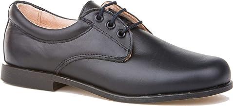 Zapatos de niño para Ceremonia. Zapato Fabricado en Piel y Hecho en España - Mi Pequeña Modelo 1811 Color Azul Marino.