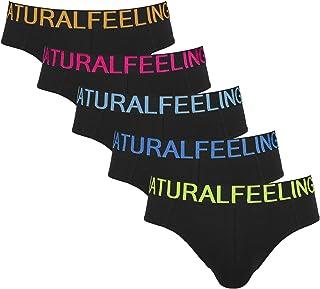 ASTEORRA Mens Underwear Cotton Mens Briefs Classic Mens Underpants Multi Pack