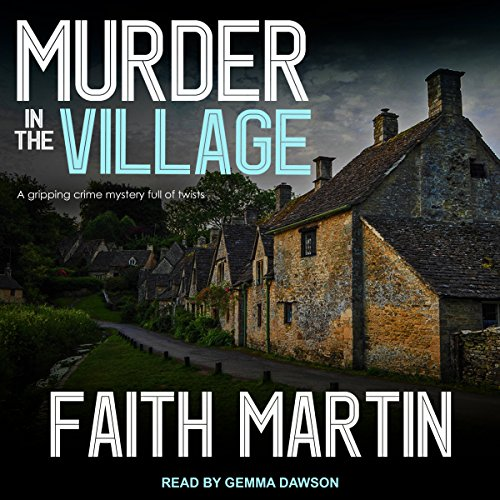Murder in the Village audiobook cover art