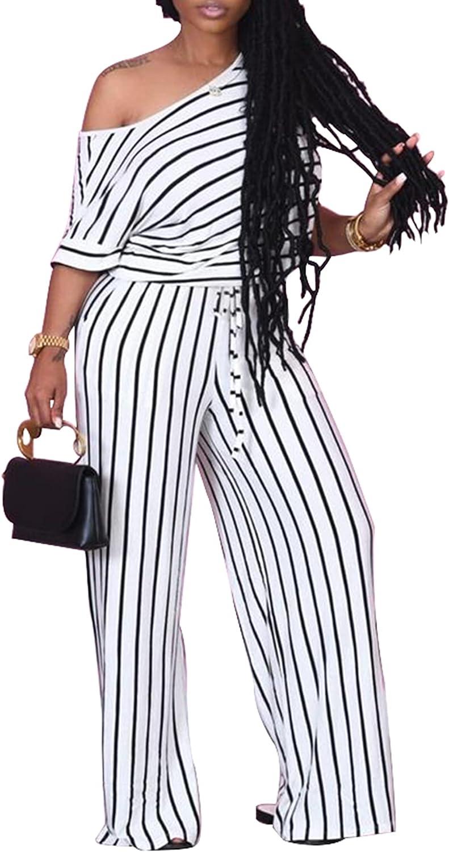 Vakkest Women Max 61% OFF Elegant Long Maxi Jumpsuit Seasonal Wrap Introduction Puf Shoulder Romper Off