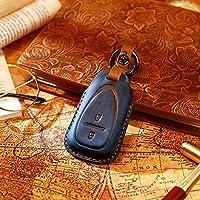 レザーカーキーカバーキーケースキーシェル、シボレークルーズに適合AVEO SAIL TRAX MALIBU CAPTIVA Opel VAUXHALL