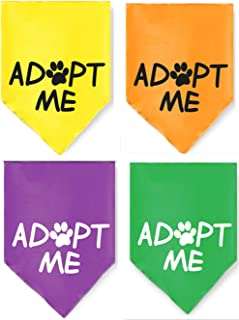 JPB 4 Pack Adopt Me Dog Bandana