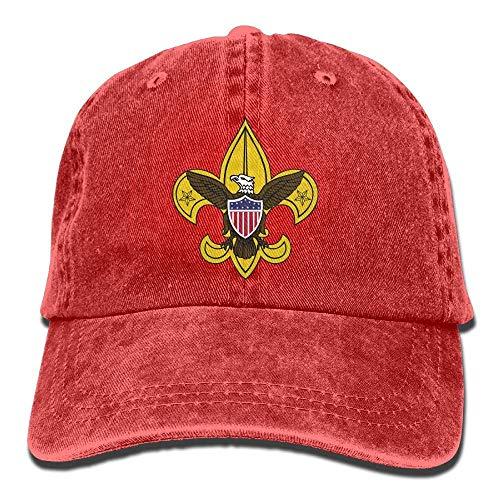 Egoa Hysteresenhoed Boy Scouting Classics Papa hoed verstelbare jeans hoed baseballcap