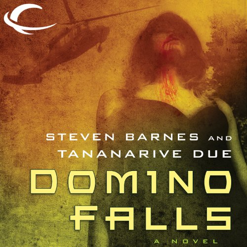 Domino Falls audiobook cover art