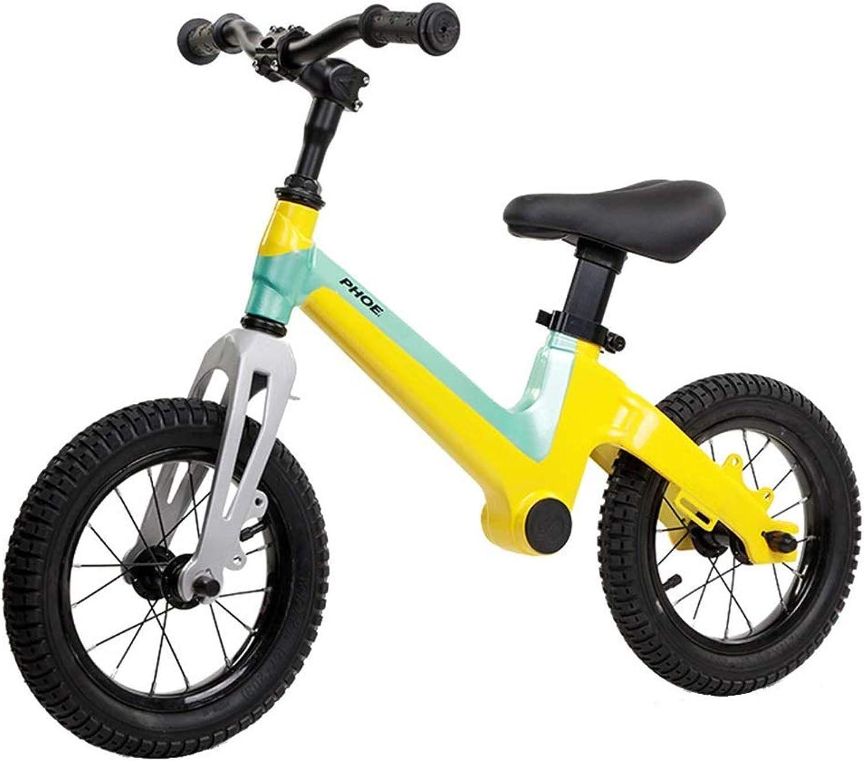 Garantía 100% de ajuste SSRS Bicicleta Infantil de Dos Ruedas con Pedales for for for Niños de 2-3 a 6 años (Color   amarillo )  barato y de alta calidad