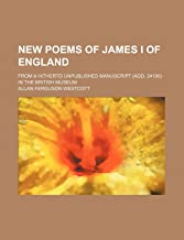 New Poems of James I of England; from a