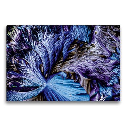 CALVENDO Premium Textil-Leinwand 75 x 50 cm Quer-Format Äpfelsäure mit Resorcin, Leinwanddruck von Thomas Becker