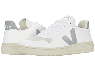 VEJA V-10 (White/Oxford Grey) Men