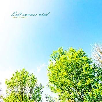 Soft summer wind