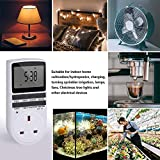 Socket, Innoo Tech Digital Security Programmable Socket with LCD Display for Lights, 24