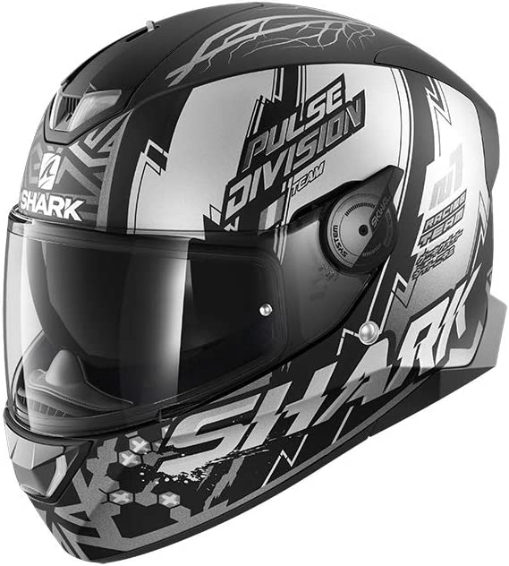 Shark Herren Nc Motorrad Helm Grau Rot Xs