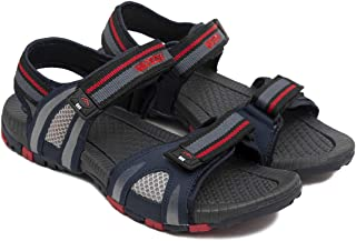 ASIAN Men's Prestige-21 Walking Sandals,floaters, Synthethic Leather Sports Sandals