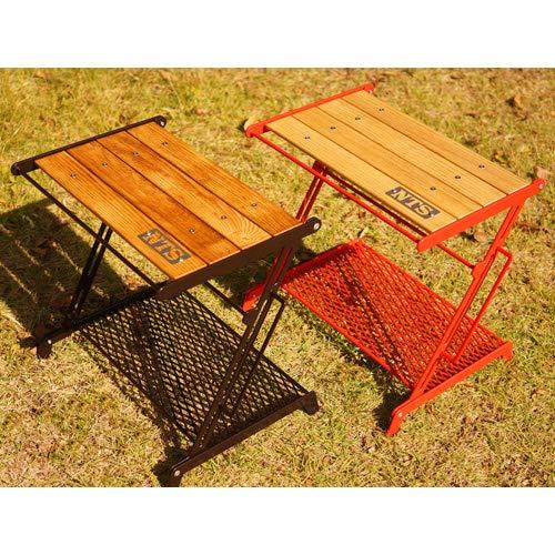 Nature tones(ネイチャートーンズ) キャンプ テーブル リトルブレイクスタンド Sサイズ ダークブラウン LBS-S-DB