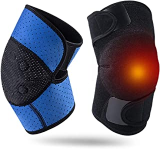 LYRAL 1 Par Auto del Cojín De Calefacción Caliente Rodilla Rodilla Magnética Terapia Protector De La Calefacción Espontánea del Cojín De Protección De Fitness Gear Soporte Tirantes