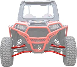 SuperATV Heavy Duty High Clearance Front A-Arms for Polaris RZR XP 1000 / XP 4 1000 (2014+) - Red - Includes All 4 Arms - Non-Adjustable