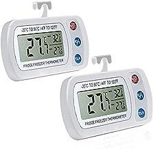 AIGUMI Termómetro Digital congelador Impermeable con