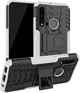 Boleyi Case for Realme 6S, [Heavy Duty] [Slim Hard Case] [Shockproof] Rugged Tough Dual Layer Armor Case With stand functi...