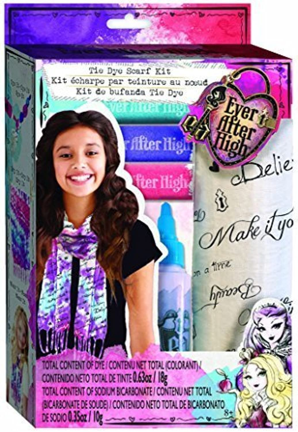 Ever After High Tie Dye Scarf Kit by fashion angels