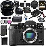Fujifilm X-T2 Mirrorless Digital Camera (Body Only) 16519247 + Fujifilm 35mm f/1.4 XF R Lens 16240755 Bundle