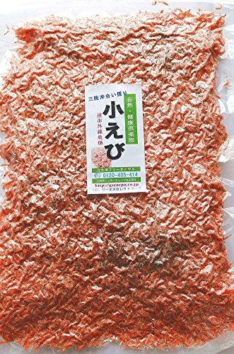 海藻問屋 小えび アミエビ (180g) 宮城県 三陸産 沖合い採り 成熟アミエビ 無着色 遠赤外線乾燥