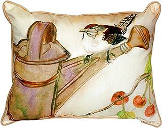 """Betsy Drake SN268 Carolina Wren Pillow, 11"""" x14"""""""