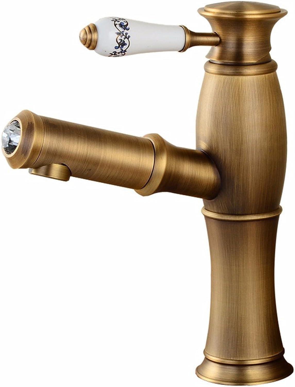 ETERNAL QUALITY Bad Waschbecken Wasserhahn Küche Waschbecken Wasserhahn Heies Und Kaltes Einzelloch Waschtischmischer BEG2421