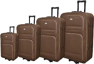 New Travel Luggage Trolly Br1001-4p Coffee
