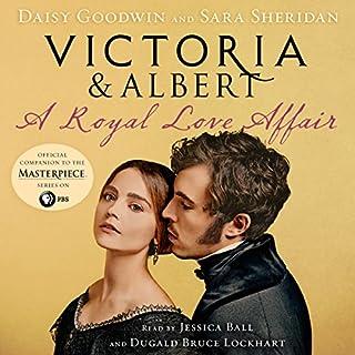 Victoria & Albert audiobook cover art