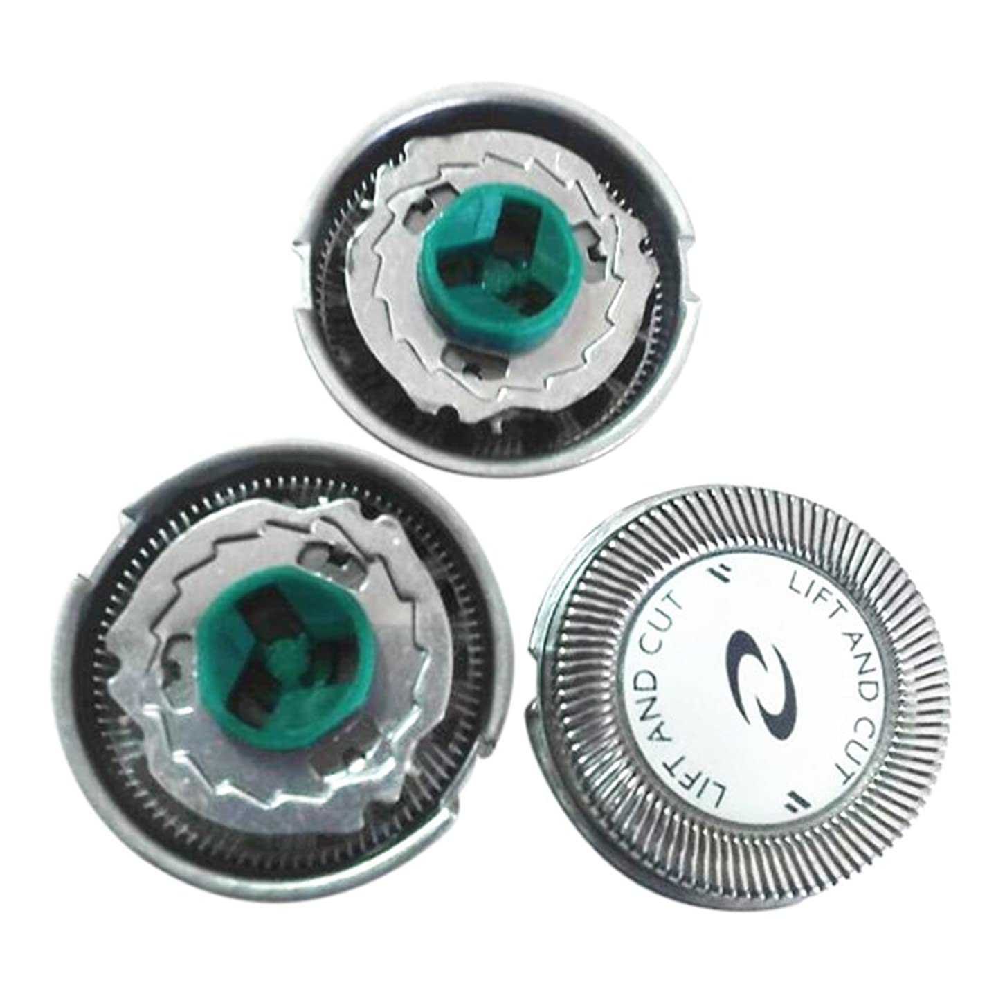 発信ランドマークコピーHZjundasi 3x Replacement シェーバーヘッドフォイル+Cutters for Philip HQ6070 7310XL PT726/720