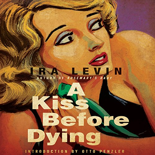 A Kiss Before Dying audiobook cover art
