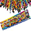 Kicko Pencil Assortment - 7.5 inches Assorted Colorful Pencils for Kids - Pack of 144 - Exciting School Supplies, Awards and Incentives, Party Favors